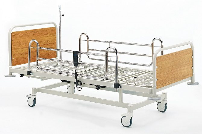ECO HOSPITAL BED WITH TWO MOTORS