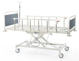 Üç Motorlu Hasta Karyolası Modeli