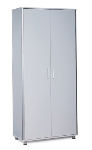 DOUBLE WARDROBE WITH ALUMINIUM CORNERS