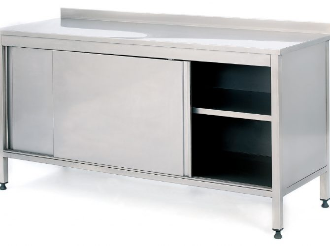 INSTRUMENT CABINET WITH SLIDING DOORS