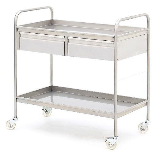 EQUIPMENT TROLLEY WITH DRAWERS