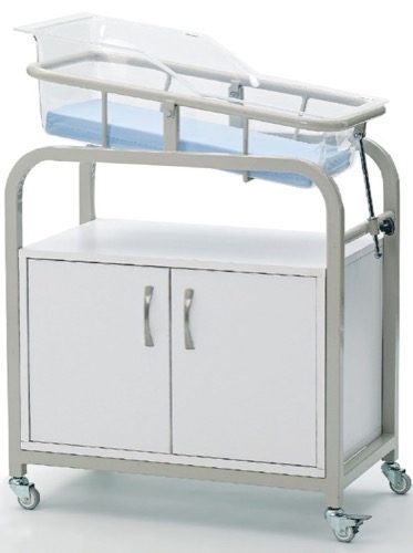 BABY COT WITH CABINET