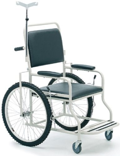 HOSPITAL TYPE PATIENT TRANSPORT CHAIR