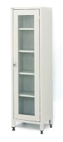 MEDICINE CABINET WITH SINGLE GLASS DOOR