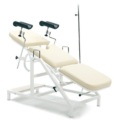 MANUAL GYNECOLOGICAL EXAMINATION COUCH
