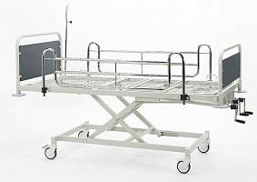 Yükseklik Ayarlı Mekanik Hasta Karyolası