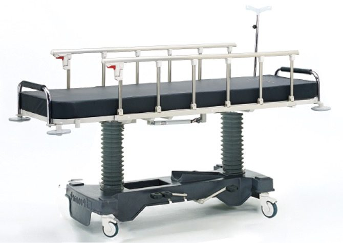 HYDRAULIC STRETCHER WITH  PEDALS