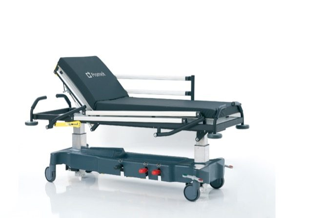EMERGENCY STRETCHER WITH ALUMINIUM SIDE RAILS