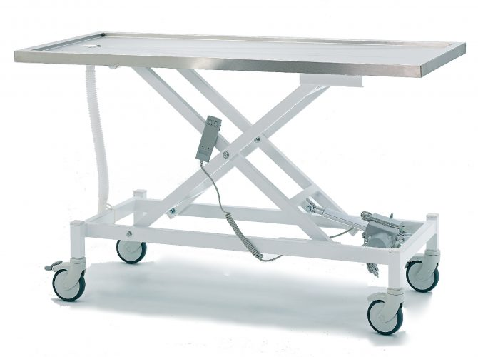 VETERINARY EXAMINATION COUCH WITH MOTOR