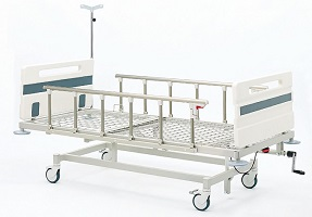 ABS Tek Ayarlı Mekanik Hasta Karyolası