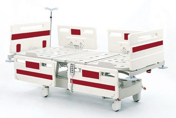 ABS Üç Motorlu Hasta Karyolası