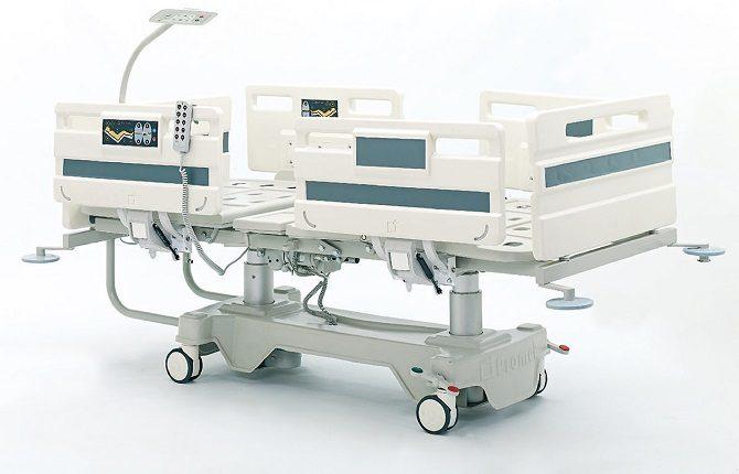 ABS Kolon Motorlu Hasta Karyolası