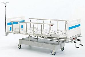ABS Üç Ayarlı Mekanik Hasta Karyolası