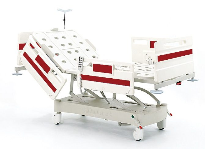 ABS HOSPITAL BED WITH THREE MOTORS